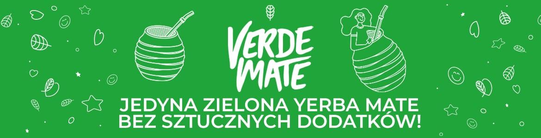 Verde Mate Green - jedyna zielona yerba mate bez sztucznych dodatków.