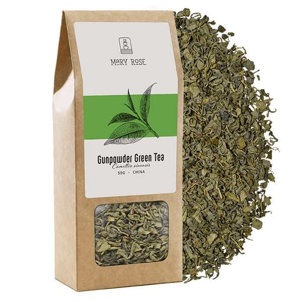 Mary Rose - Herbata Zielona Gunpowder - 50g