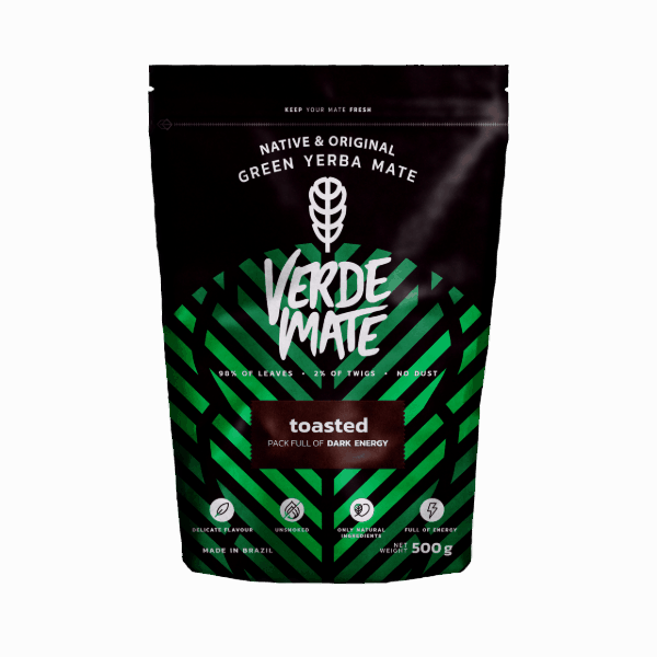Verde Mate Green Toasted - Tostada - 0,5kg