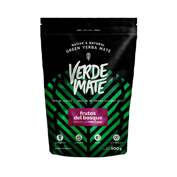 Yerba Verde Mate Green Frutos del Bosque 0,5kg