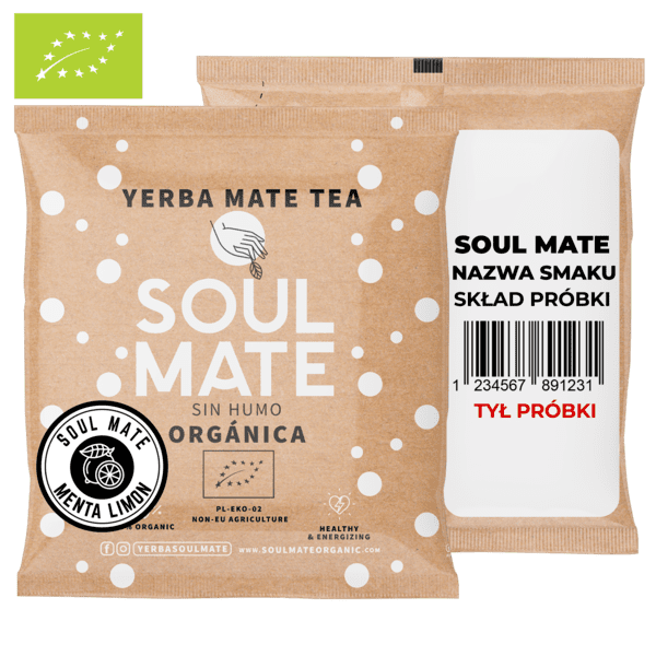 Soul Mate Orgánica Menta Limon 50g (organiczna)